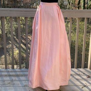 Vintage 60s Baby Pink Highwaisted Ball Skirt